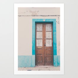 That door of yours Art Print