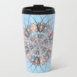 Lizard Snowflake Travel Mug