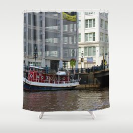 Solomon Juneau Shower Curtain