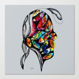 Man Tech Canvas Print