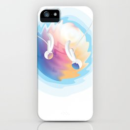 Abstract Space Art T-Shirt iPhone Case