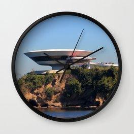 MAC Niterói | Oscar Niemeyer Wall Clock