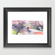 Bicycle Boy 01 Framed Art Print