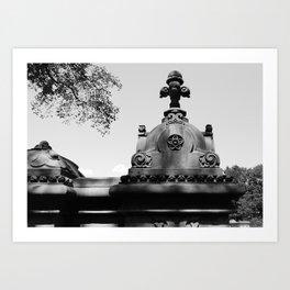 'Central Park Architecture' Art Print