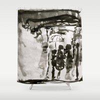 irish Shower Curtains featuring Irish dream by Som Somni