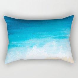 Above the Sea Rectangular Pillow