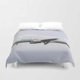 Alitalia Airbus 320 Duvet Cover