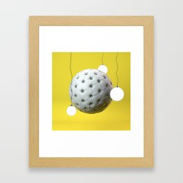 Abstract furniture Framed Art Print