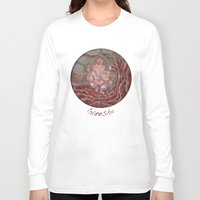 ganesha Long Sleeve T-shirts featuring Ganesha by Sincronizarte