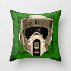 A Scout's Woodland Handbook Throw Pillow