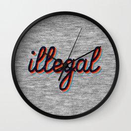 Illegal Wall Clock