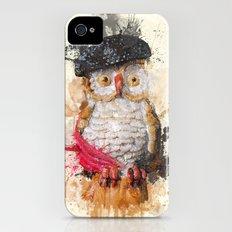 Spain Owl Slim Case iPhone (4, 4s)