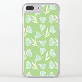 Flowers and wind Clear iPhone Case