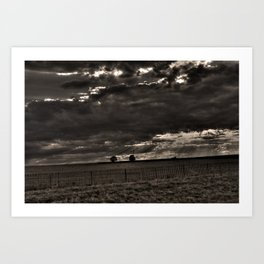 Waiting for Wind Art Print