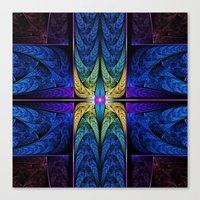 spiritual Canvas Prints featuring Spiritual One by Lyle Hatch