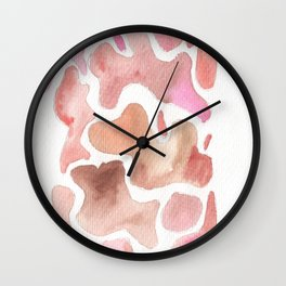 171115 Colour Shape 2 Wall Clock