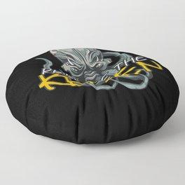 Release The Octopus Floor Pillow