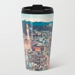 Dahlia Giants in Florence Travel Mug