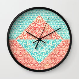 Retro Optical Fantasia Wall Clock