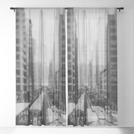 """the """"L"""" ... Sheer Curtain"""