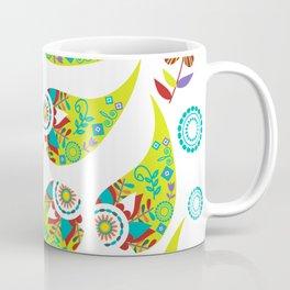 Green Paisley #3 Coffee Mug