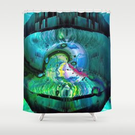 The Pearl Of Wisdom Shower Curtain