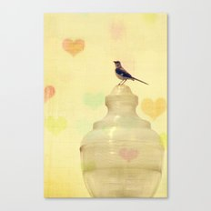 Heartsong Canvas Print