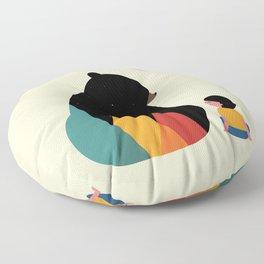 Heart To Heart Floor Pillow
