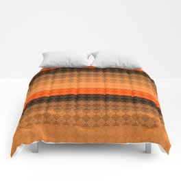 Abstract geometric pattern Comforters