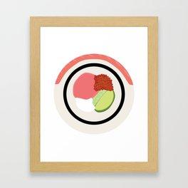 Sushi Roll - Philidelphia Framed Art Print