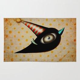 Lighting Birds Whimsical Art Rug