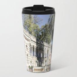 Royal Gardens Reflection - Alcazar of Seville Travel Mug