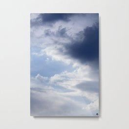Sky and Clouds Metal Print