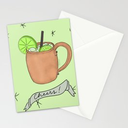 Moscow Mule Stationery Cards