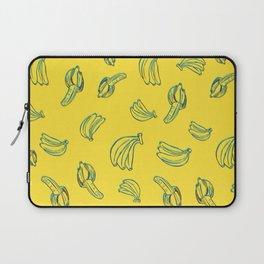 3D Bananas PatternYellow Laptop Sleeve