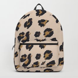 B&B Leopard Design Backpack