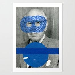 Uno, Nessuno, Centomila Mini Series 006 Art Print