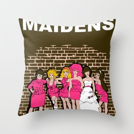 Brides Maidens Throw Pillow