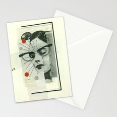 Girls Who Wear Glasses Stationery Cards