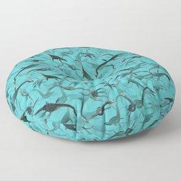 Plesiosaurus Floor Pillow