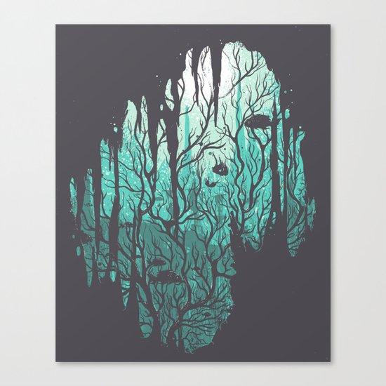 Crystalline Canvas Print
