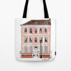 Queens Square Bristol by Charlotte Vallance Tote Bag