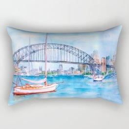 Beautiful Sydney Harbour Rectangular Pillow