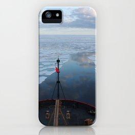 1141. U.S. Coast Guard Cutter Healy in the Beaufort Sea iPhone Case