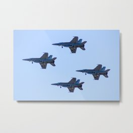Avalon Airshow - RAAF FA-18 Hornets - Formation Flying Metal Print