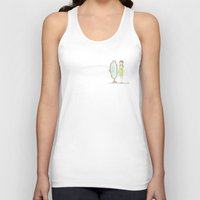 mirror Tank Tops featuring Mirror by KATUDESIGN
