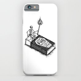 LIGHT YOUR FIRE iPhone Case