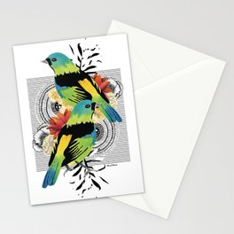 Green-headed Tanager Stationery Cards