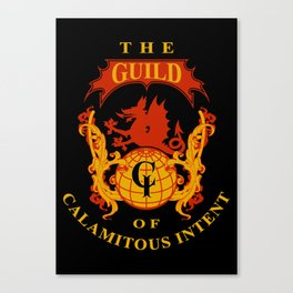 The Guild of Calamitous Intent - Venture Brothers Canvas Print