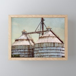 Magnolia Market Silos Waco Texas Framed Mini Art Print